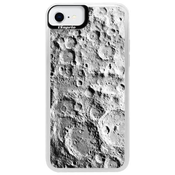 Neonové pouzdro Pink iSaprio - Moon Surface - iPhone SE 2020