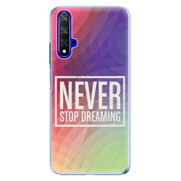 Plastové pouzdro iSaprio - Dreaming - Huawei Honor 20
