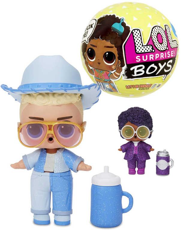 L.O.L. Surprise Boys panenka Kluk 7 překvapení různé druhy v kouli 3.serie