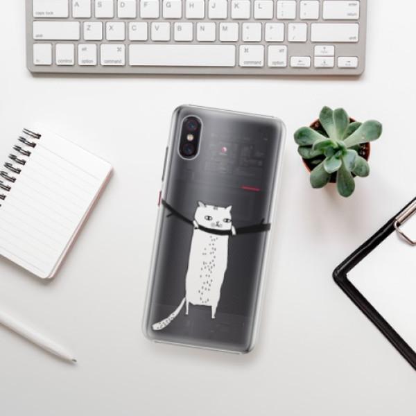 Plastové pouzdro iSaprio - Hang in there - Xiaomi Mi 8 Pro