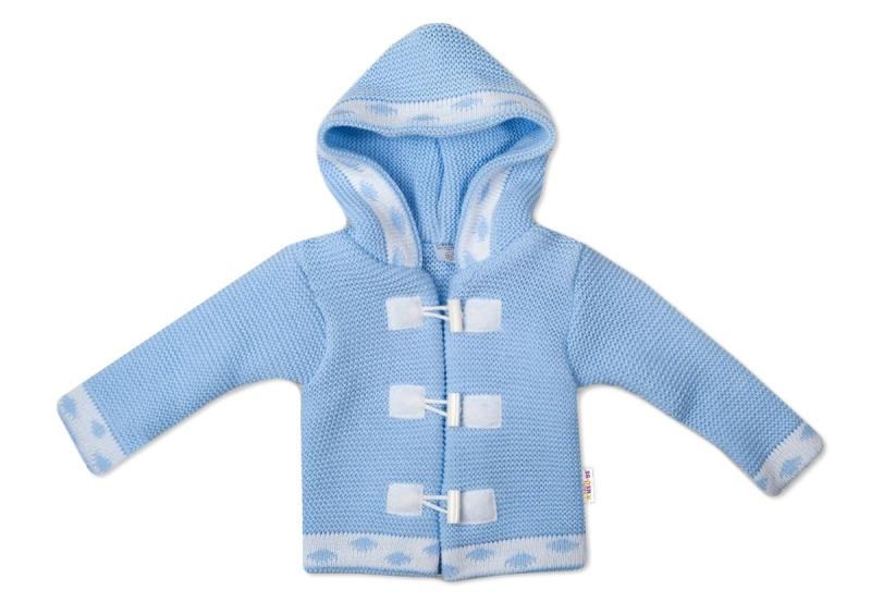 baby-nellys-dvouvrstva-kojenecka-bundicka-svetrik-modry-vel-86-86-12-18m