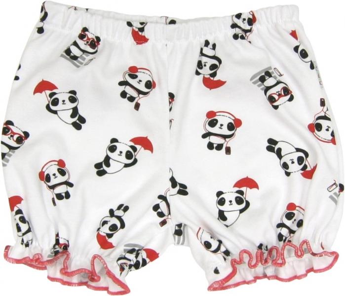 Bavlněné kalhotky, kraťásky Panda, roz.