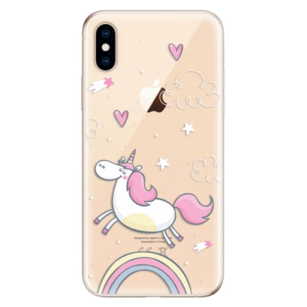 Odolné silikonové pouzdro iSaprio - Unicorn 01 - iPhone XS