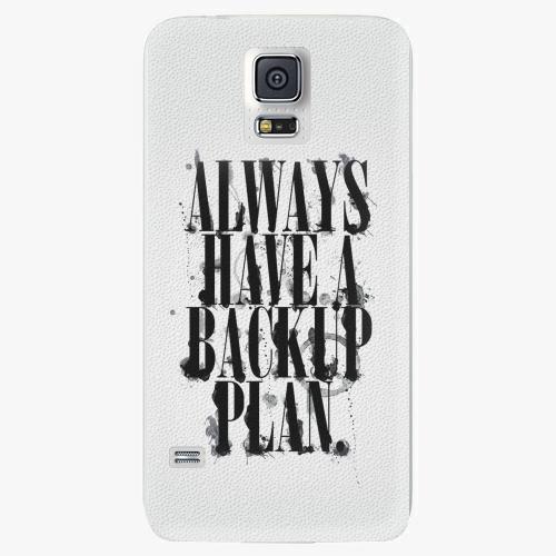 Plastový kryt iSaprio - Backup Plan - Samsung Galaxy S5