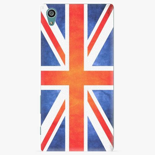 Plastový kryt iSaprio - UK Flag - Sony Xperia Z5