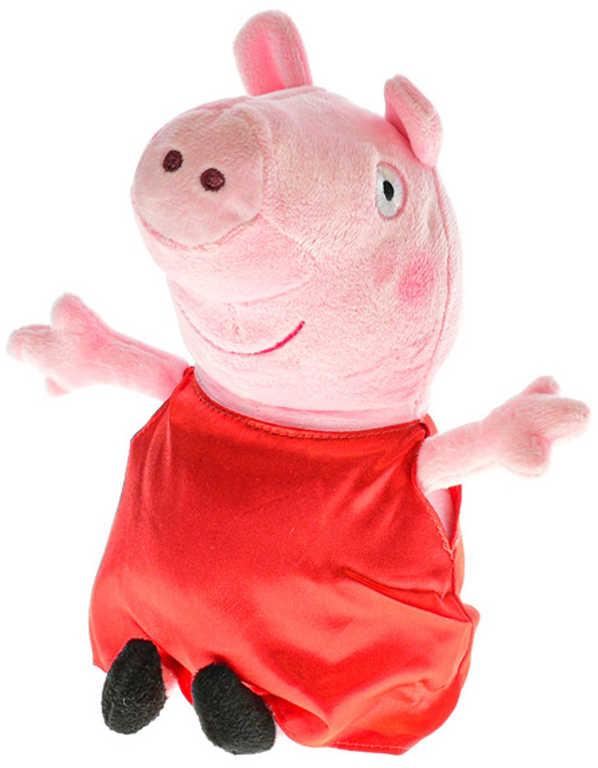 PLYŠ Prasátko Peppa Pig (Pepina) 31cm červená *PLYŠOVÉ HRAČKY*
