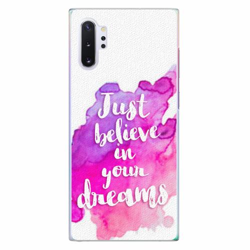 Plastový kryt iSaprio - Believe - Samsung Galaxy Note 10+