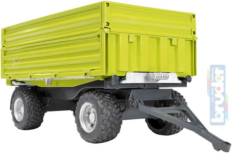BRUDER 02203 (2203) Sklápěcí vůz FLIEGL - zelený