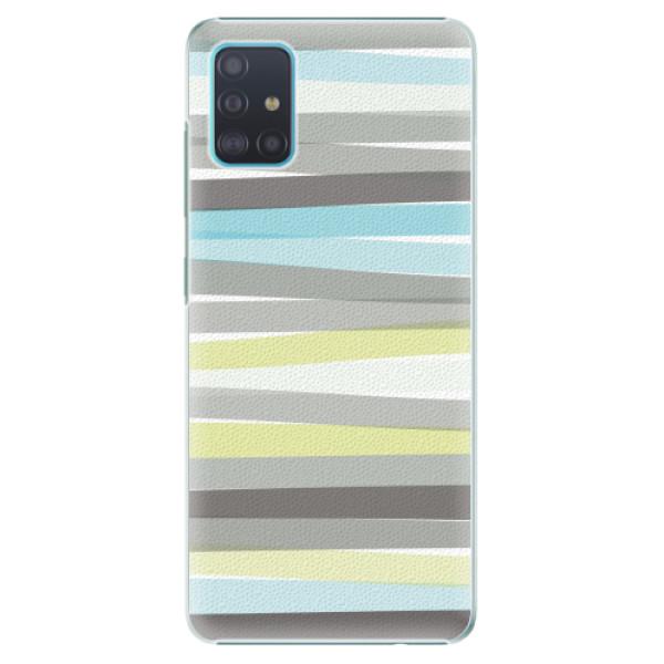 Plastové pouzdro iSaprio - Stripes - Samsung Galaxy A51