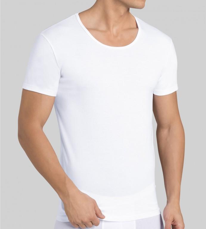 Pánské triko Sloggi Men 24/7 H O-Neck - Bílá