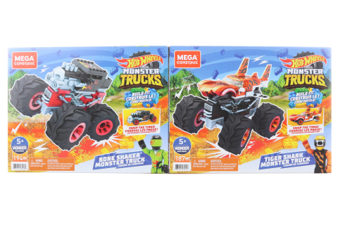 Mega Construx Hot wheels monster trucks asst GVM14