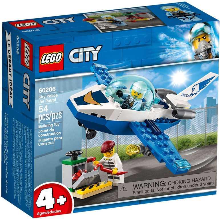 LEGO CITY Hlídka Letecké policie 60206