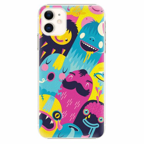 Plastový kryt iSaprio - Monsters - iPhone 11