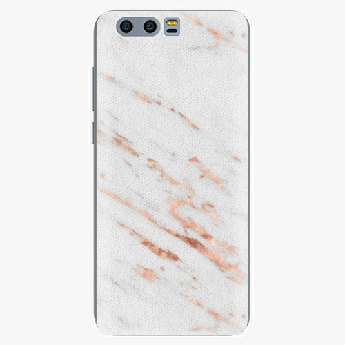 Plastový kryt iSaprio - Rose Gold Marble - Huawei Honor 9