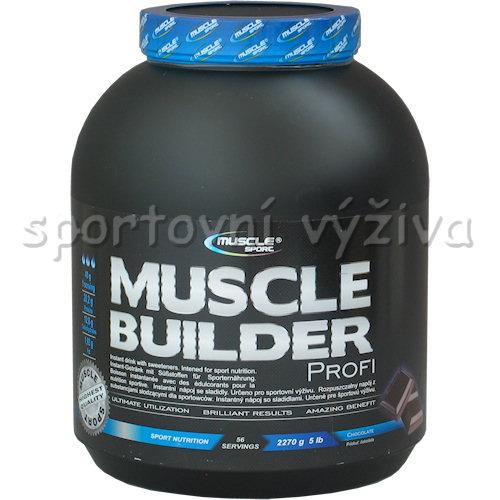 Muscle Builder profi - 2270g-vanilka