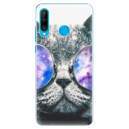 Plastový kryt iSaprio - Galaxy Cat - Huawei P30 Lite