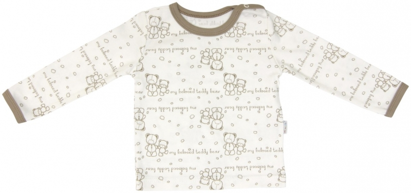 Bavlněné pyžamko Mamatti Baby Bear TEDDY