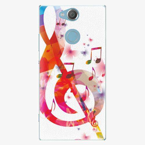 Plastový kryt iSaprio - Love Music - Sony Xperia XA2