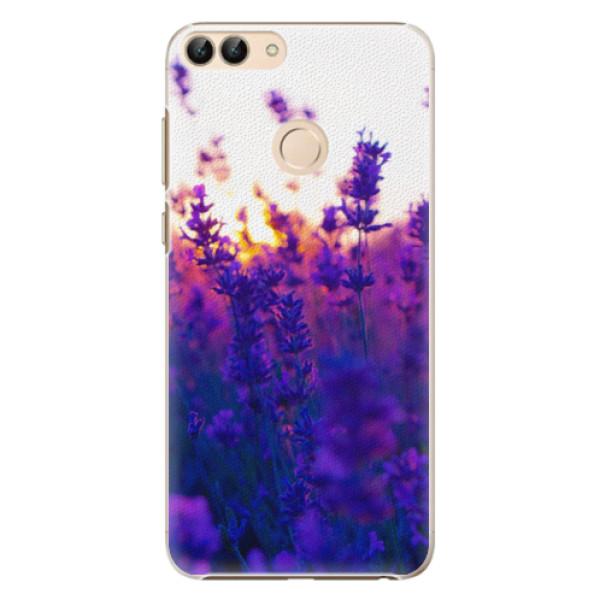 Plastové pouzdro iSaprio - Lavender Field - Huawei P Smart