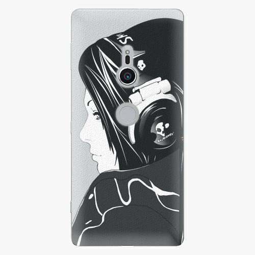 Plastový kryt iSaprio - Headphones - Sony Xperia XZ2