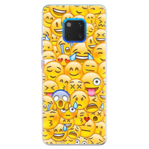 Silikonové pouzdro iSaprio - Emoji - Huawei Mate 20 Pro