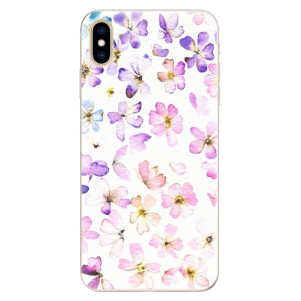 Silikonové pouzdro iSaprio - Wildflowers - iPhone XS Max
