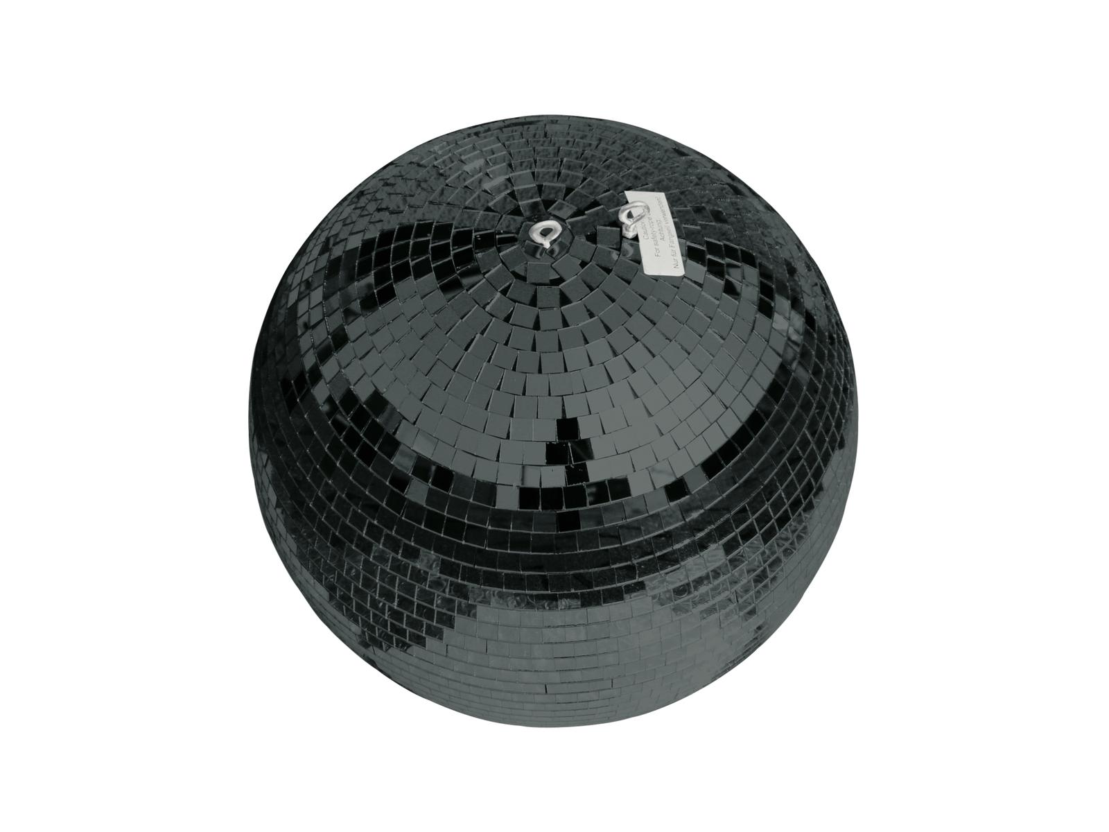 Zrcadlová koule 50 cm černá