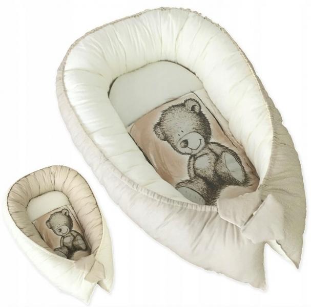baby-nellys-oboustranne-hnizdecko-kokon-teddy-80x45x15cm-piskova