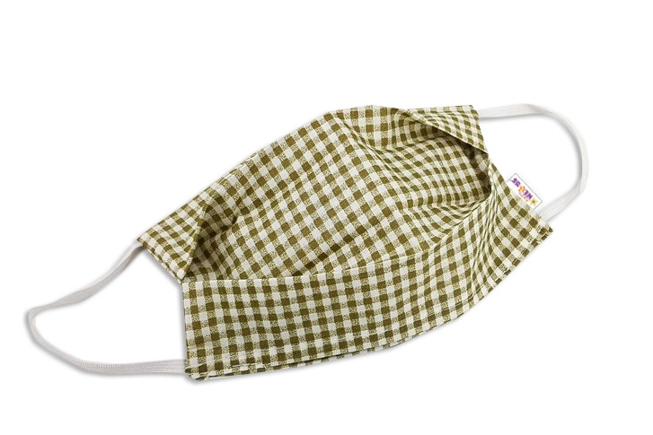 Bavlněná rouška, dvouvrstvá s kapsou na filtr na gumičku - pánské motivy, barvy