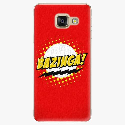 Plastový kryt iSaprio - Bazinga 01 - Samsung Galaxy A3 2016