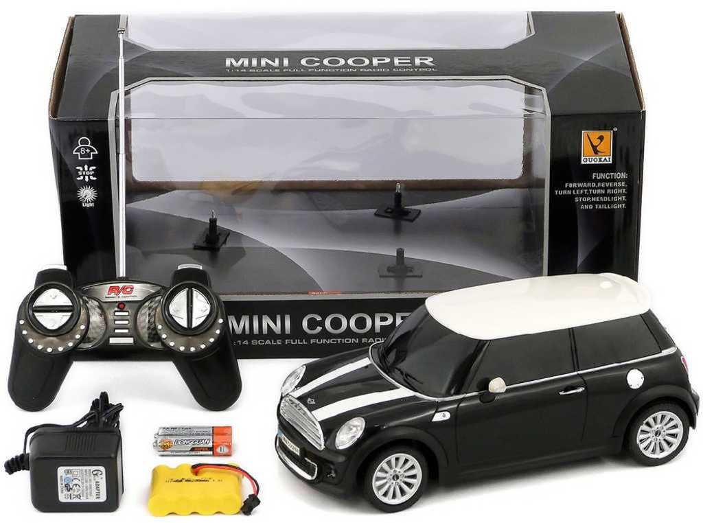 RC Auto BMW Mini Cooper 1:14 na vysílačku 25 cm - 3 barvy