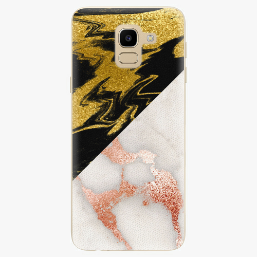 Plastový kryt iSaprio - Shining Marble - Samsung Galaxy J6