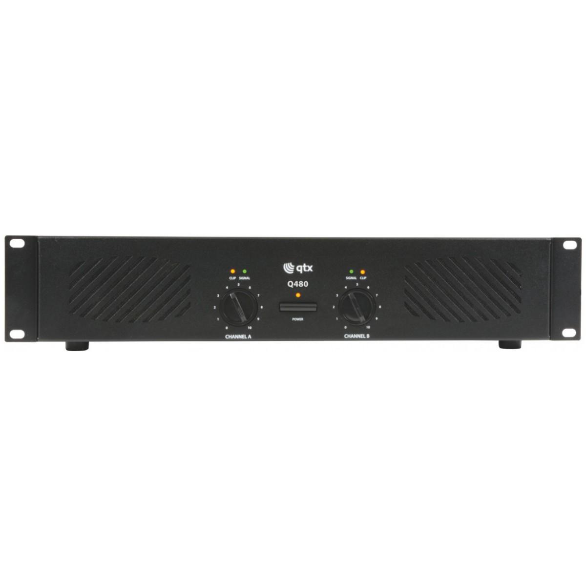 QTX Q-480, zesilovač 2x 240W