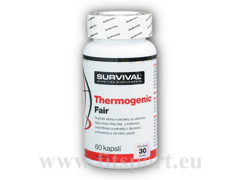 Thermogenic Fair Power 60 kapslí akce