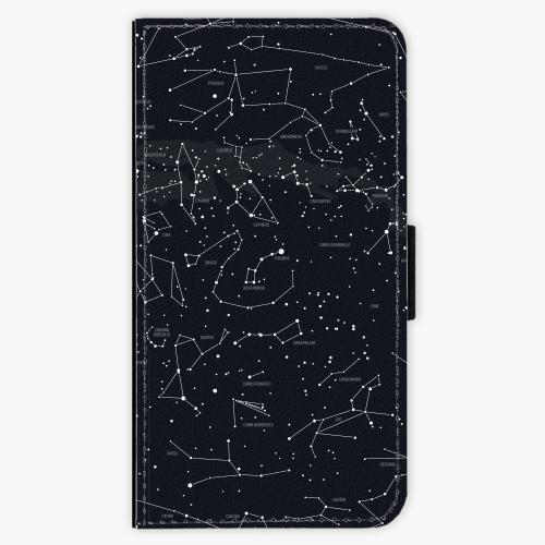 Flipové pouzdro iSaprio - Night Sky 01 - Lenovo Moto G4 / G4 Plus