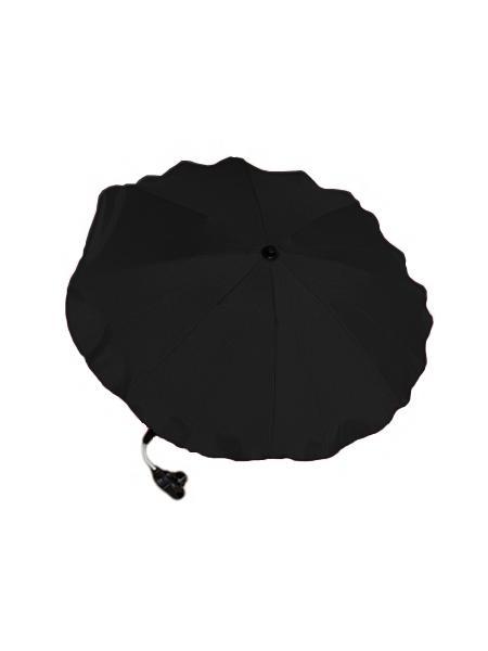 Slunečník na kočárek - černý - černá