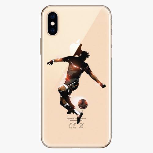 Silikonové pouzdro iSaprio - Fotball 01 - iPhone XS