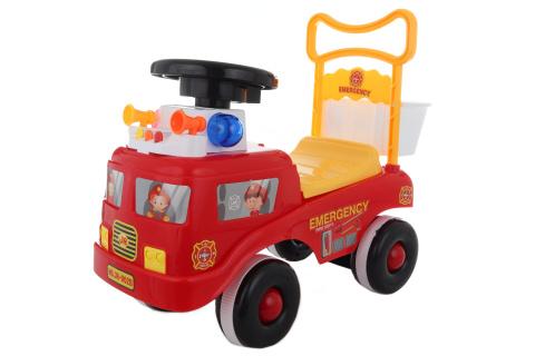 Odrážedlo hasičské auto se zvuky