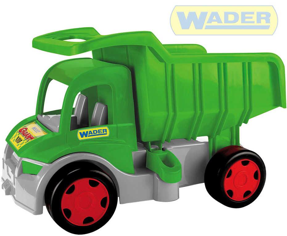 WADER Auto Gigant Truck funkční sklápěč Farmer 55cm zelený plast 65015