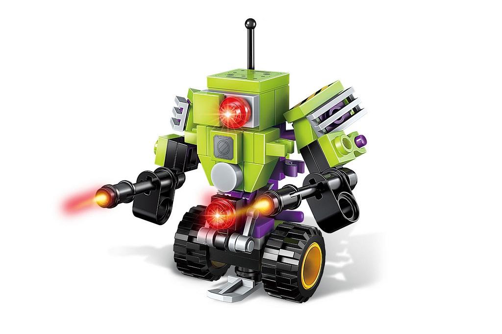 Qman Pioneer Police-Apocalypse 1802-4 Robot Anti-Tank Soldier