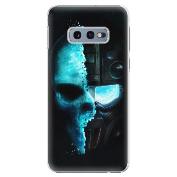 Plastové pouzdro iSaprio - Roboskull - Samsung Galaxy S10e