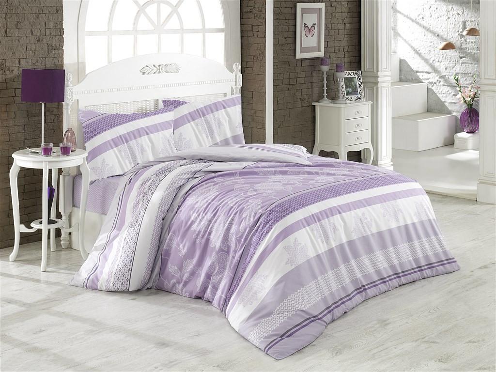 Přehoz přes postel dvoulůžkový Klaudie fialová, Výběr rozměru: