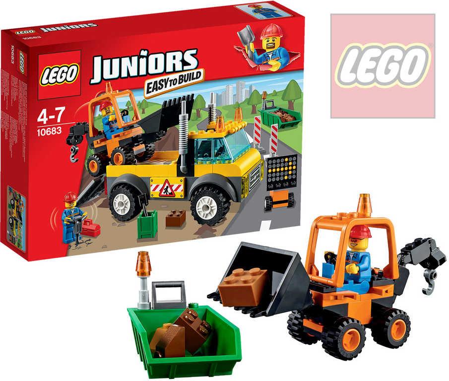 LEGO JUNIORS Náklaďák pro silničáře 10683