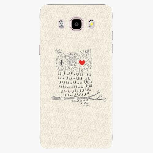 Plastový kryt iSaprio - I Love You 01 - Samsung Galaxy J5 2016