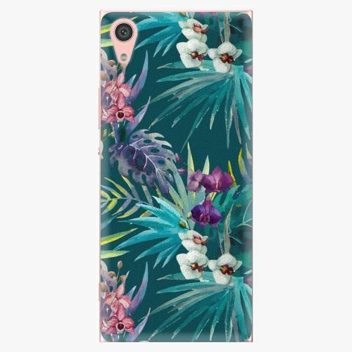 Plastový kryt iSaprio - Tropical Blue 01 - Sony Xperia XA1