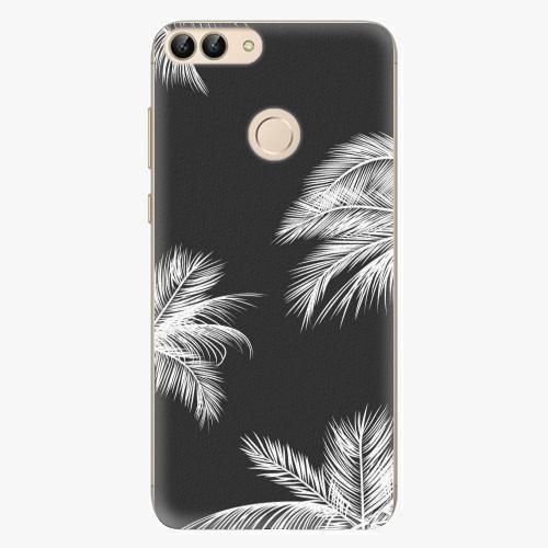 Silikonové pouzdro iSaprio - White Palm - Huawei P Smart