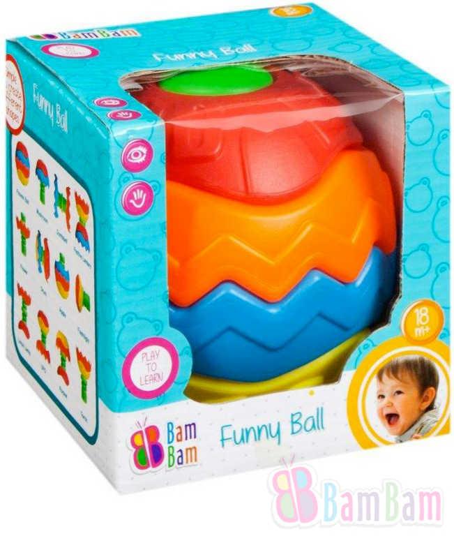 ET BAM BAM Baby koule zábavná stavebnice pro miminko