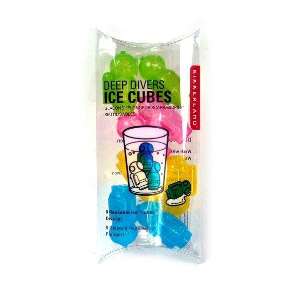 Ledové kostky - potápěči