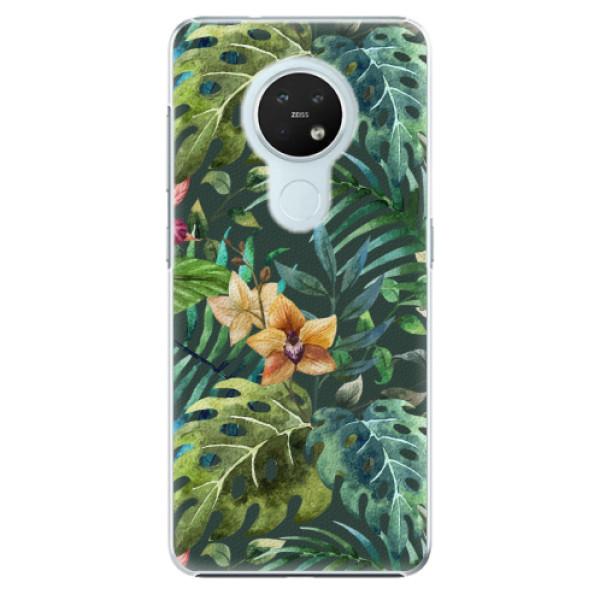 Plastové pouzdro iSaprio - Tropical Green 02 - Nokia 7.2