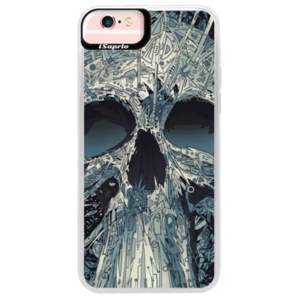 Neonové pouzdro Pink iSaprio - Abstract Skull - iPhone 6 Plus/6S Plus